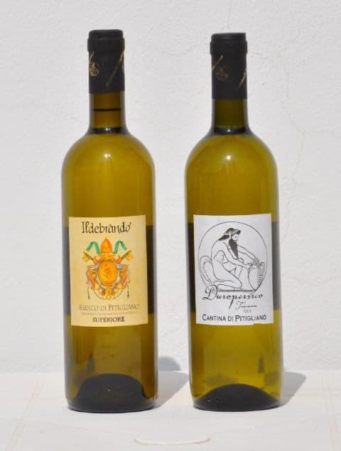 vino bianco pitigliano
