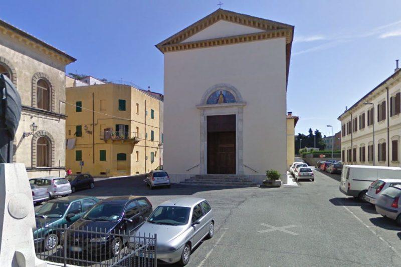 chiesa di santa lucia pitigliano