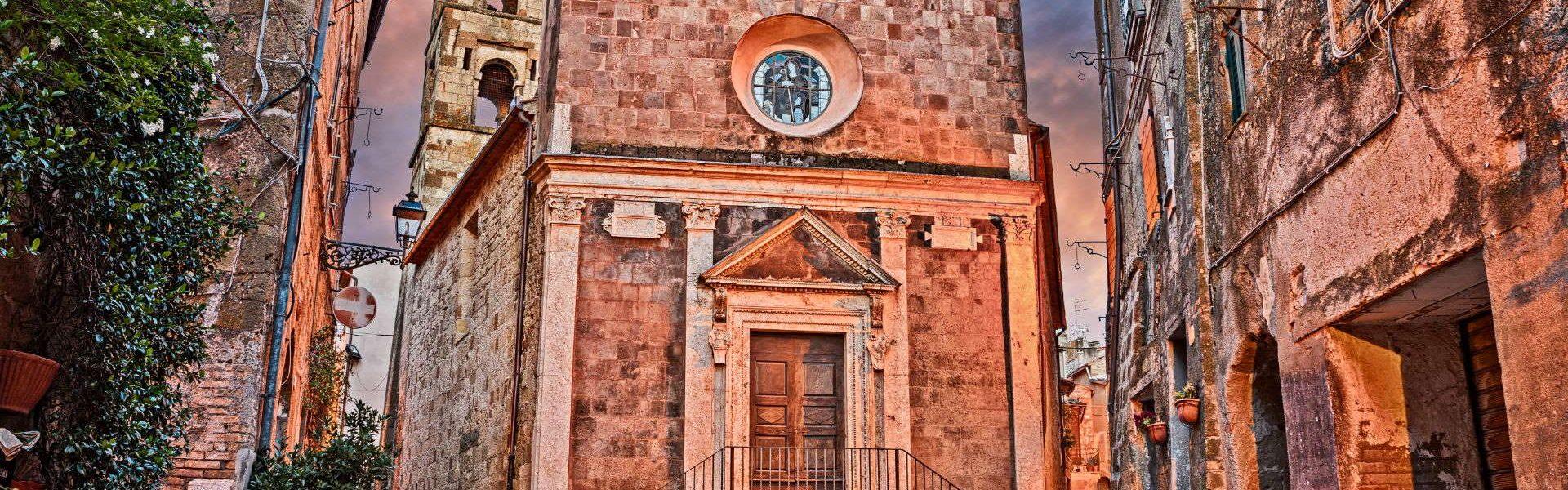pitigliano chiesa di san rocco
